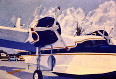 Chalks Sea Plane 2 4' x 2.5'