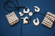 Mammoth Ivory Circle Hooks