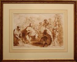 Francesco Bartolozzi - The adoration of