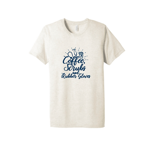 Coffee Scrubs & Rubber Gloves T-Shirt