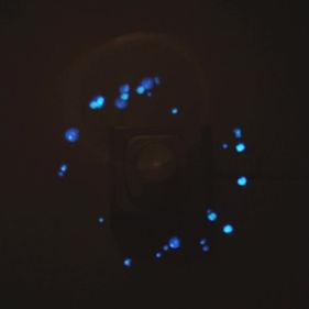 Delikten iceri Holofan Hologram Art