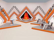 Piramit Yarışma Dekoru