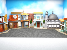 Tiyatro Dekoru Sokak