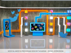 Sosyal Medya Program Dekoru