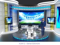 Multi corner news room design