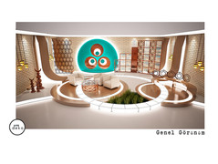 Dini tema dekor tasarımı