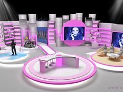 Morning show TV Studio Design