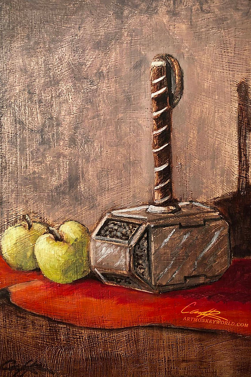 Apples and Hammer Color Study