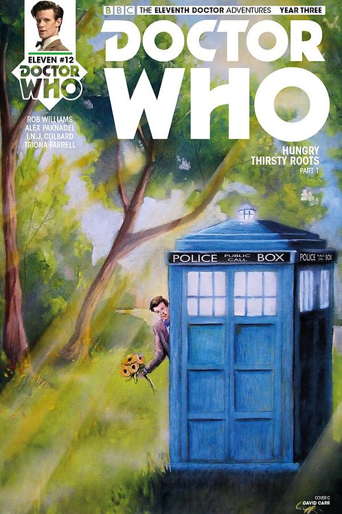 Doctor Who: New Adventures with the Eleventh Doctor, Year Three #12 (Carr Cover)