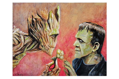 Frank and Groot