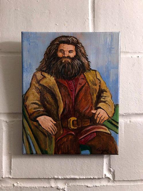 """""""Hagrid"""" Original Oil"""