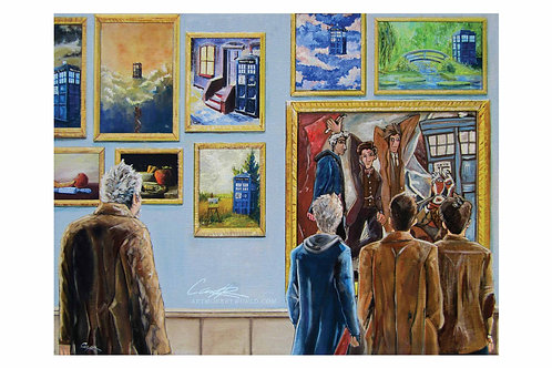 The Doctor and his Paintings