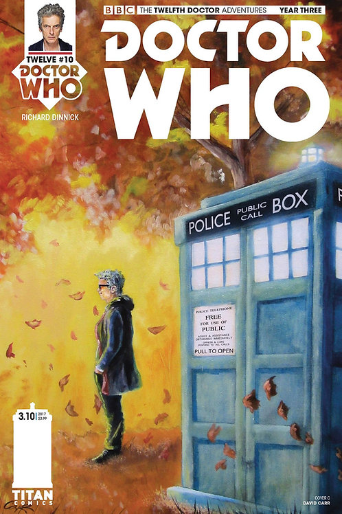 Doctor Who: New Adventures with the Twelfth Doctor, Year Three #10 (Carr Cover)