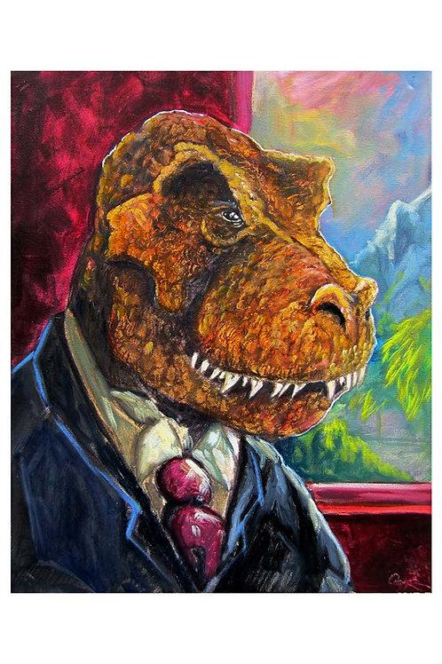 Classy T-Rex Portrait