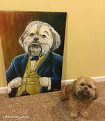dapper dog painting 2016.jpg