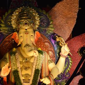 Replica of Lalbaugh Raja..