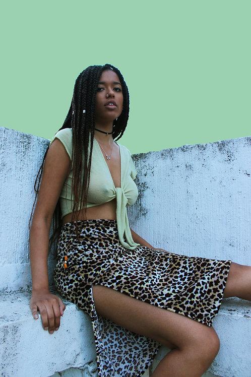 Tasia Midi Skirt W/ Side Slit