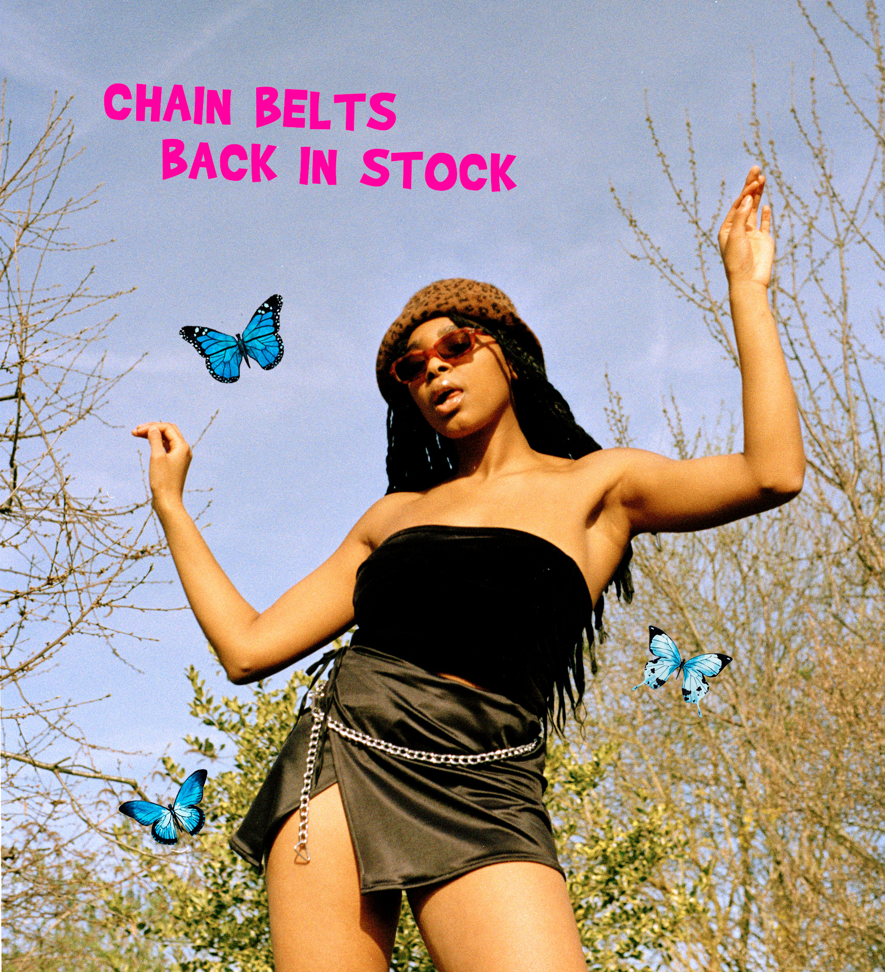 Chain Belts Back In Stock