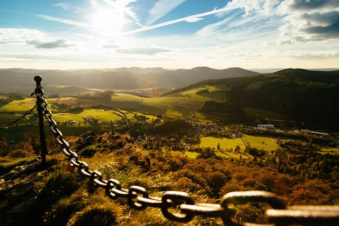 Herbstwanderung im Sauerland