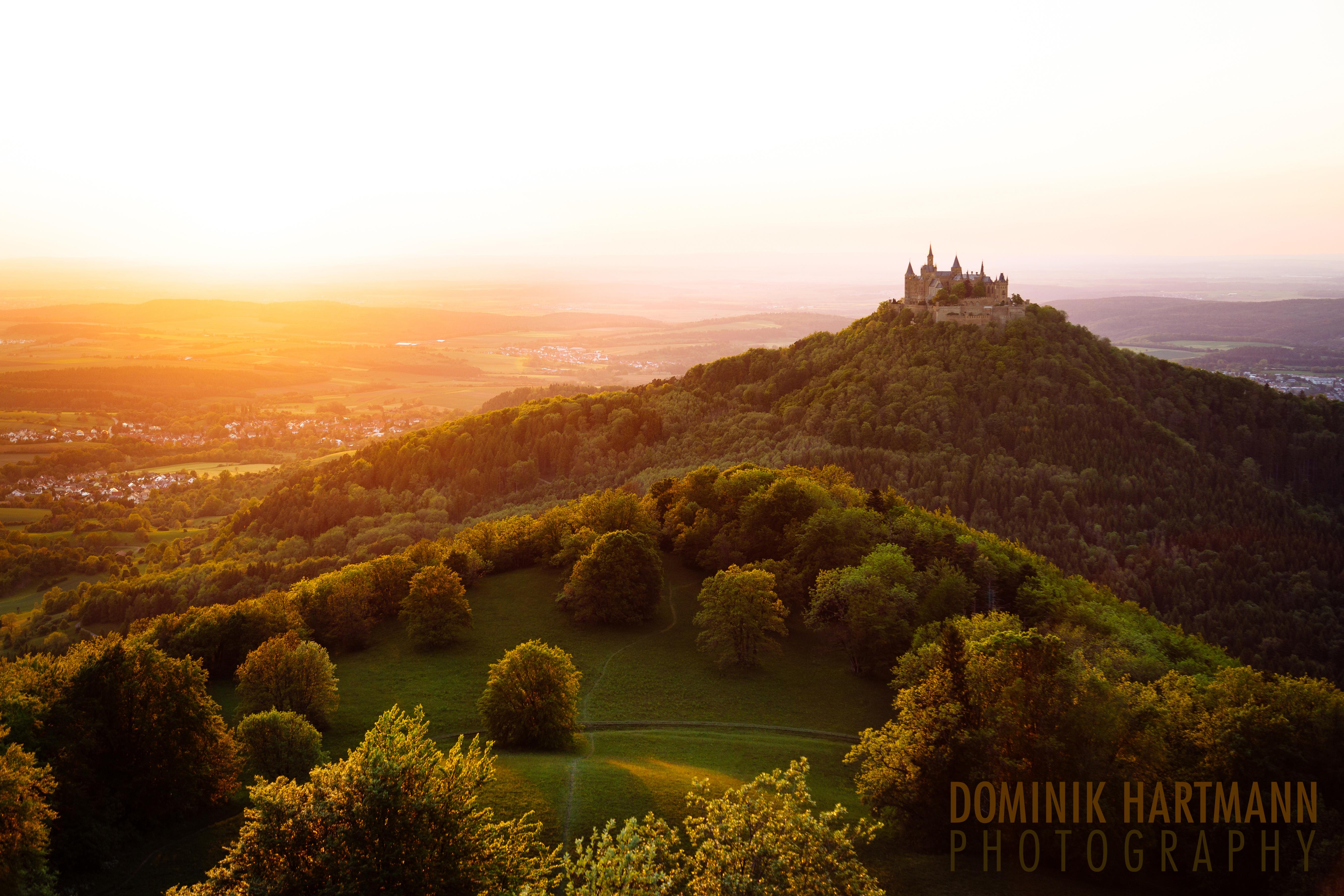 Burg Hohenzollern Sunset