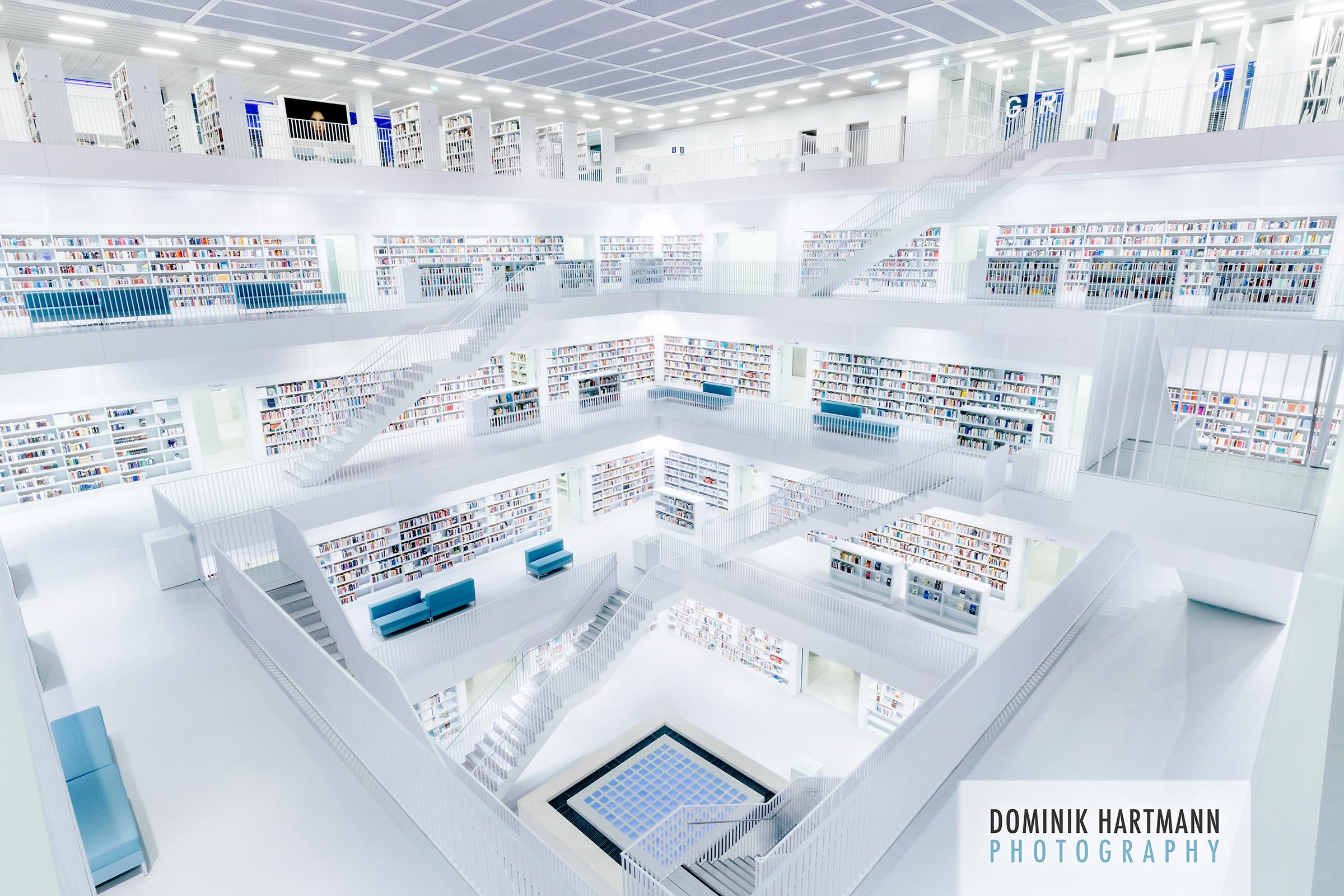 Stuttgart Stadtbibliothek l