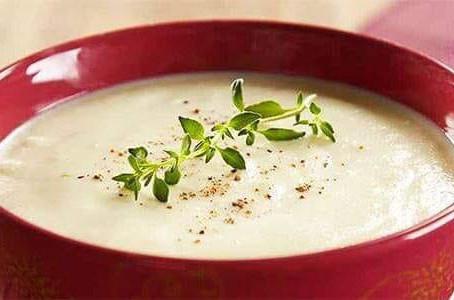 Receitas de Sopa Low carb de Couve-flor e Abóbora com Espinafre! 🤤