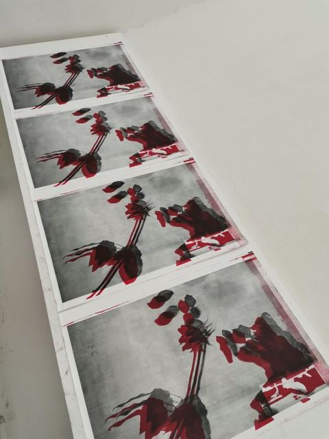 """15 pieces, available.  """"Love"""" Sonya Fichte Zincografía 68.5 cm x 48 cm Disponible / Available"""