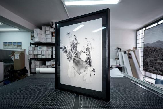 BLEW AWAY - 73x110cm - Digital - Float Mount Framed - Perla paper