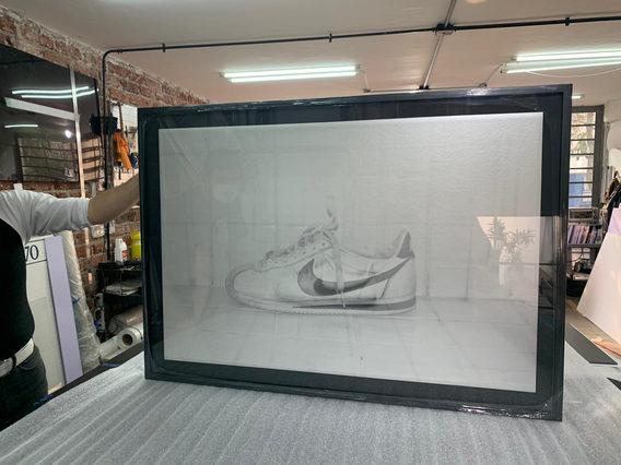 SONYA GUMP - 110x73cm - Digital - Float Mount Framed - Perla paper