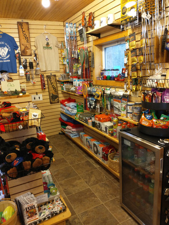 Fully stocked store