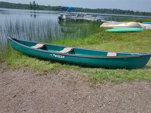Three Person Canoe