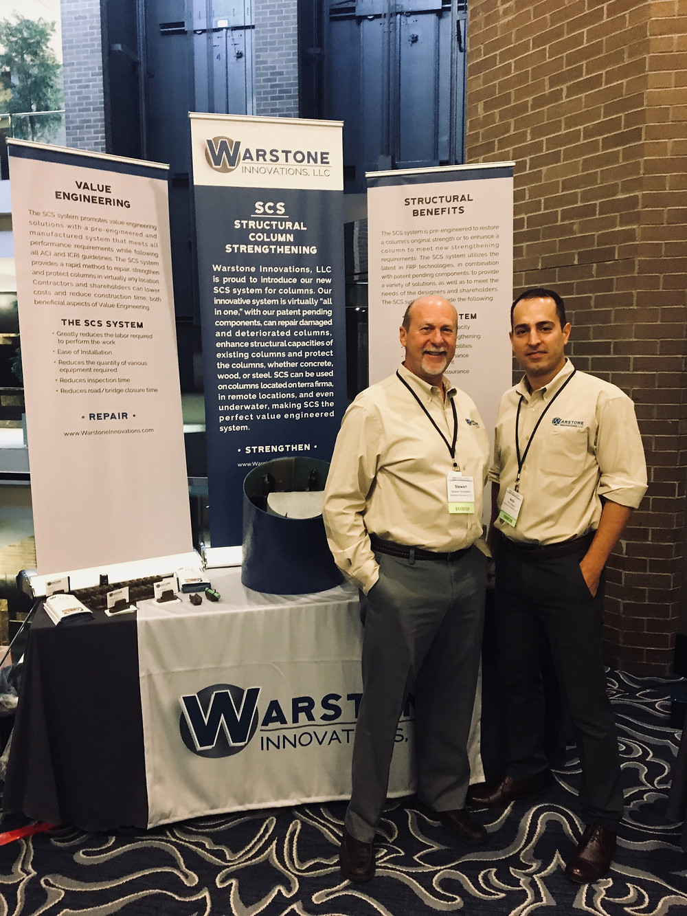 Stewart Kriegstein and Amir Saheb at 2017 ICRI Fall Convention in New Orleans, LA