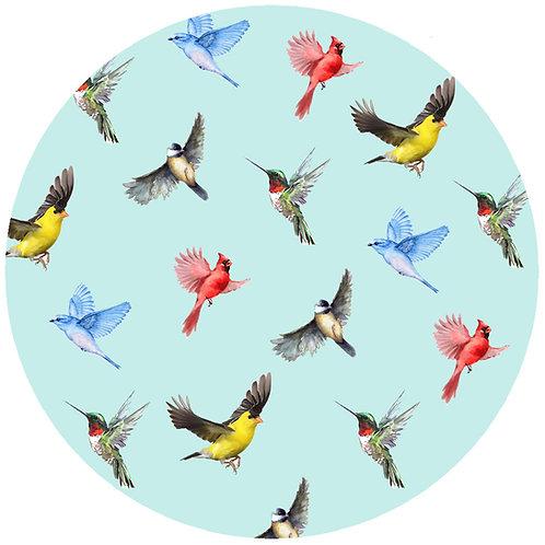 Multi Birds Blue - 366B