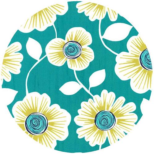 Teal Flower - 55