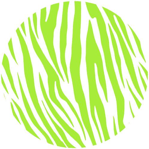Wild Lime Zebra - 123