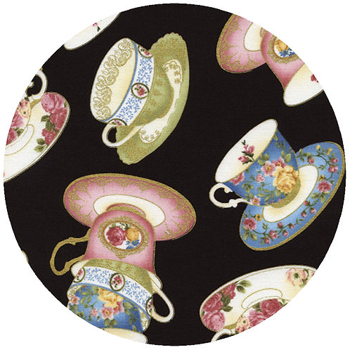 Tossed Tea Cups - 45