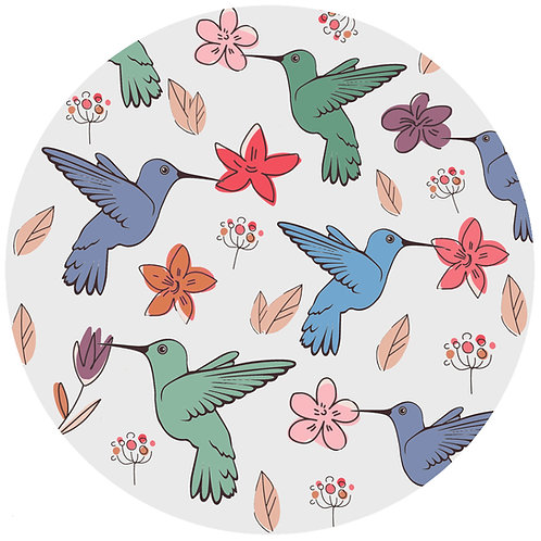 Floral Hummingbird - 397