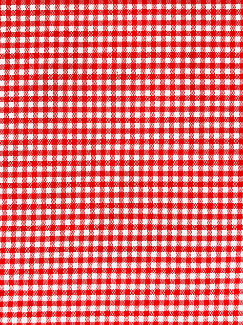 Red Gingham - 107