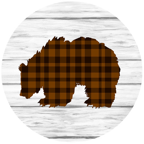 Plaid Bear - GG PB