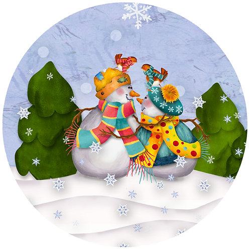 Snowmen Couple - GG CP
