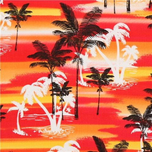 Sunset Palm Trees*