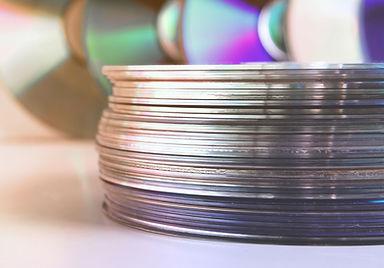 Pilha de CDs