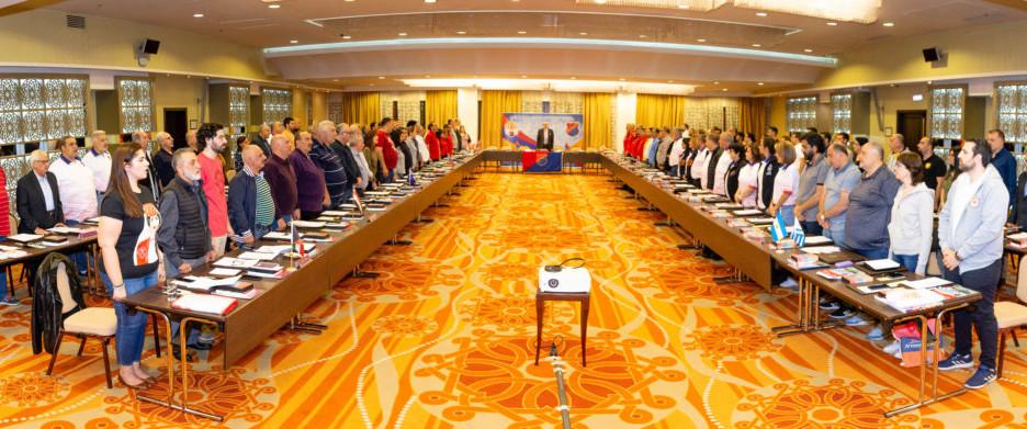 Homenetmen's 12th World Congress Condemns Turkey's Invasion of Syria