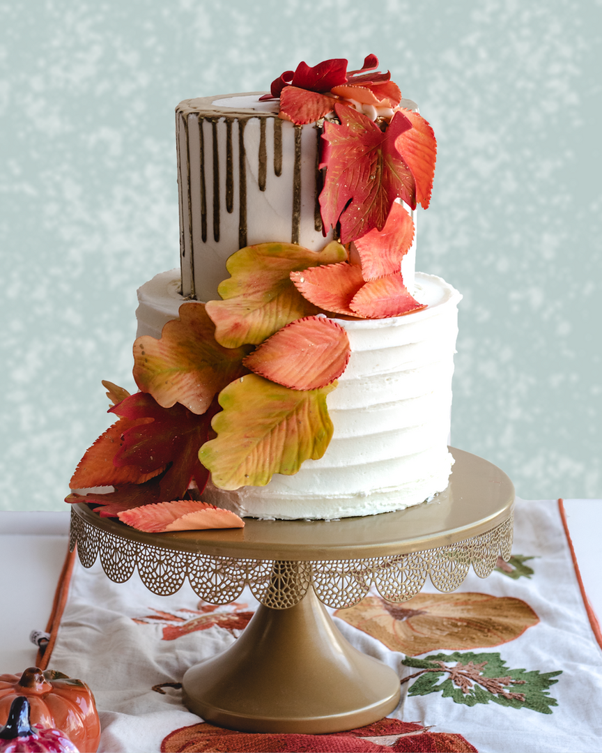 fall leaves display cake.png