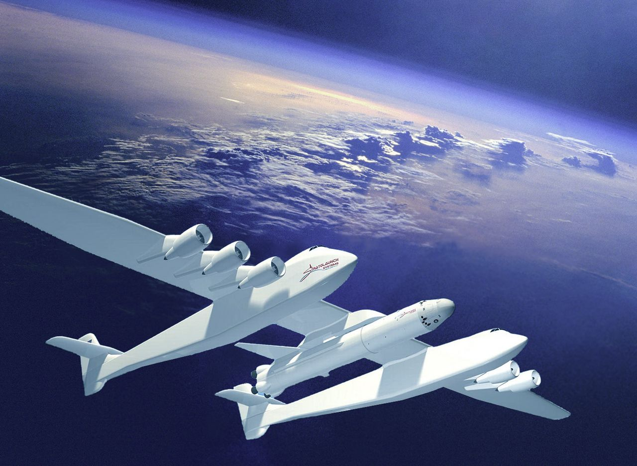 Stratolaunch - world's largest plane