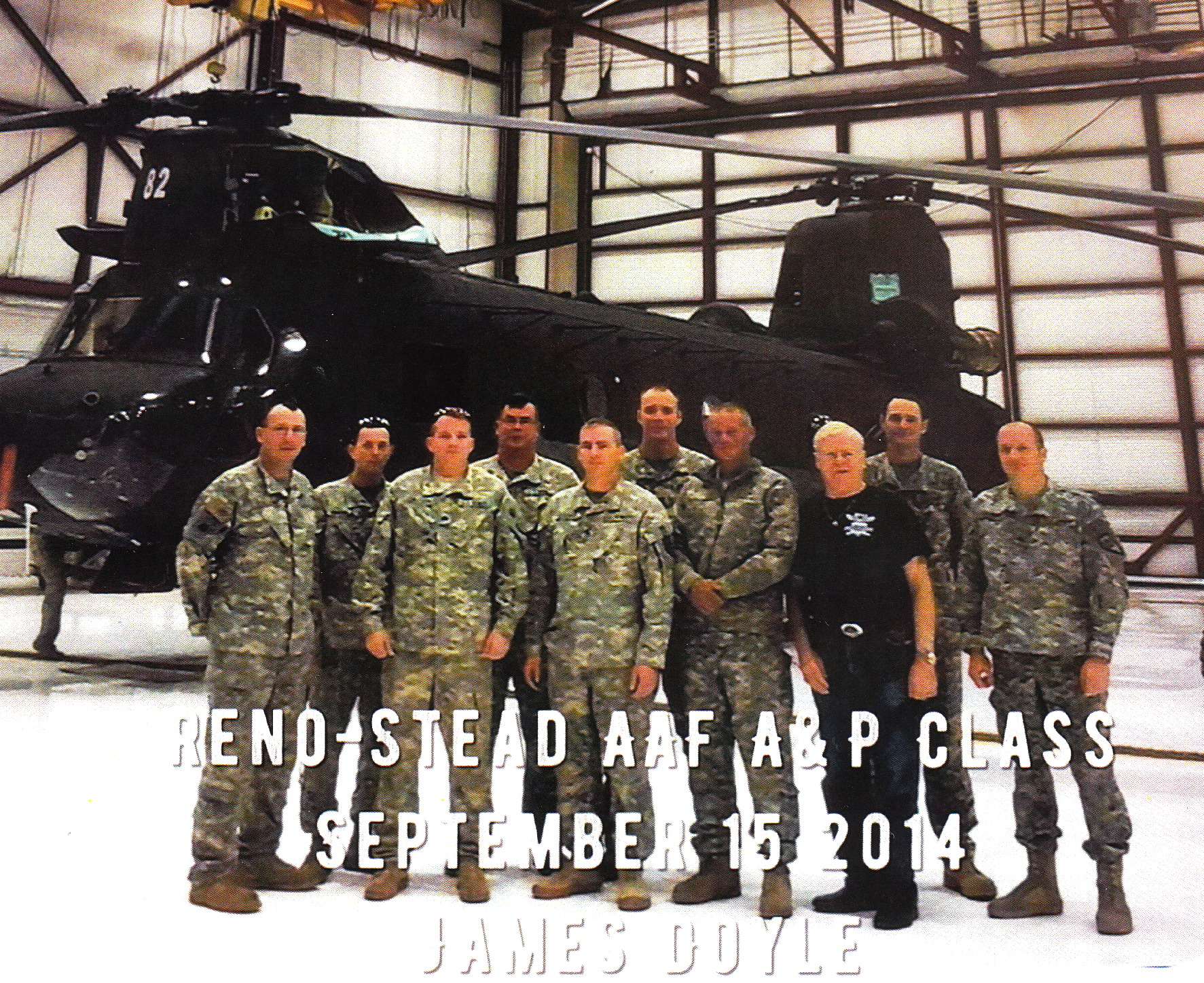 Stead Air Force Base A&P course