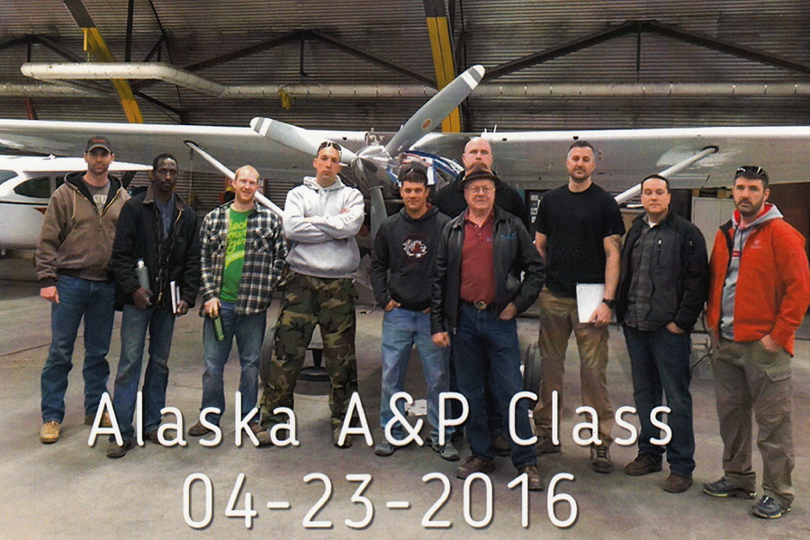 Alaska A&P course in 2016