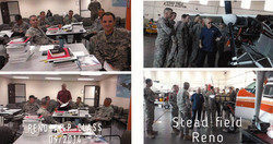 Stead AFB A&P course in progress