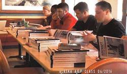 Students of Alaska A&P course