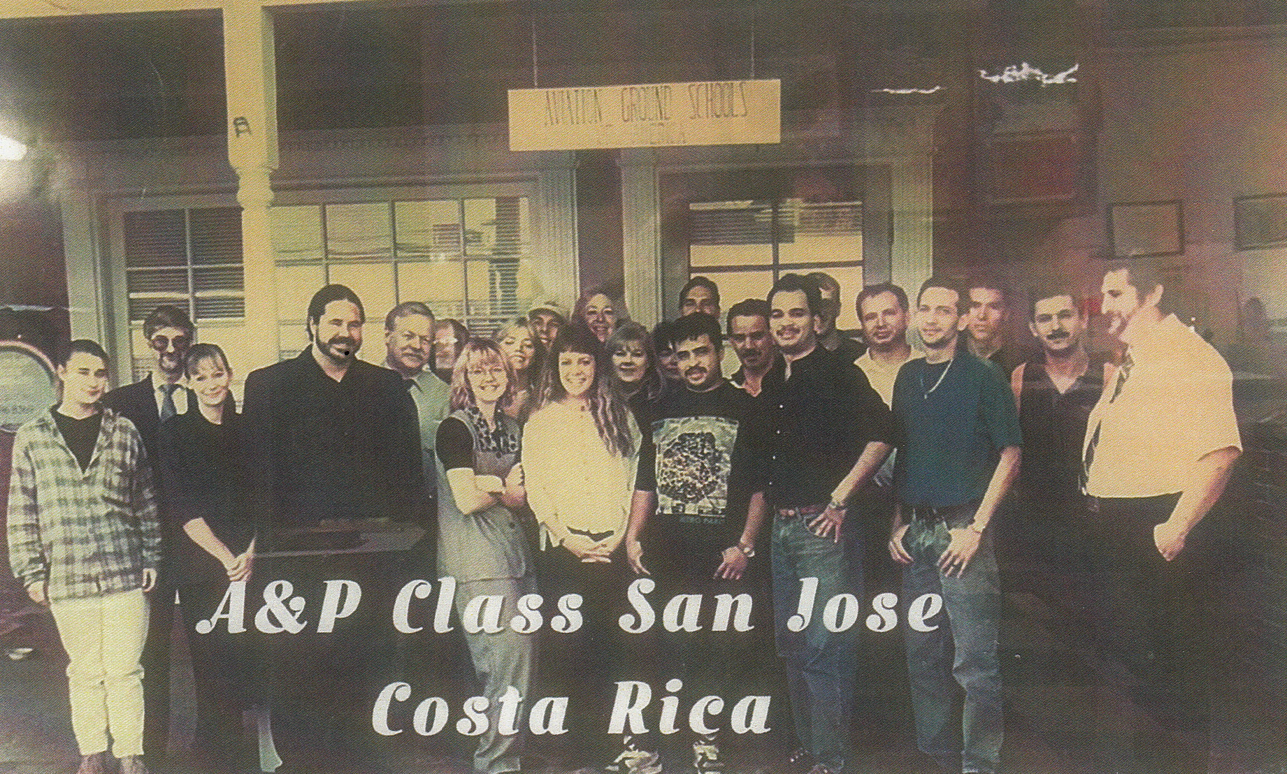 A&P course in San Jose, Costa Rica